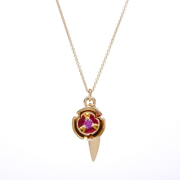 pendant: pink blossom pendant: lge_0056