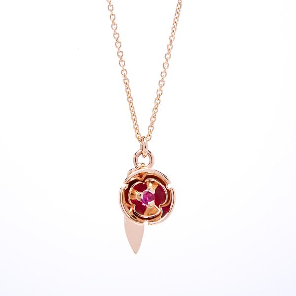pendant: ruby blossom pendant : lge_0052