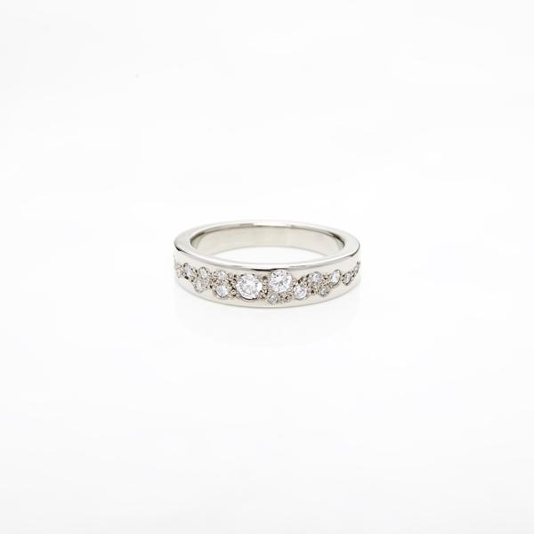 ring: white cherry blossom engagement ring: lge_1932: